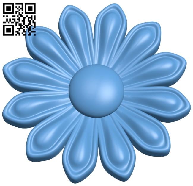 Pattern flower design A006060 download free stl files 3d model for CNC wood carving