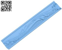 Pattern frame A006005 download free stl files 3d model for CNC wood carving