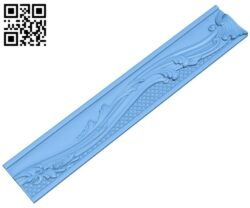 Pattern frame A006006 download free stl files 3d model for CNC wood carving