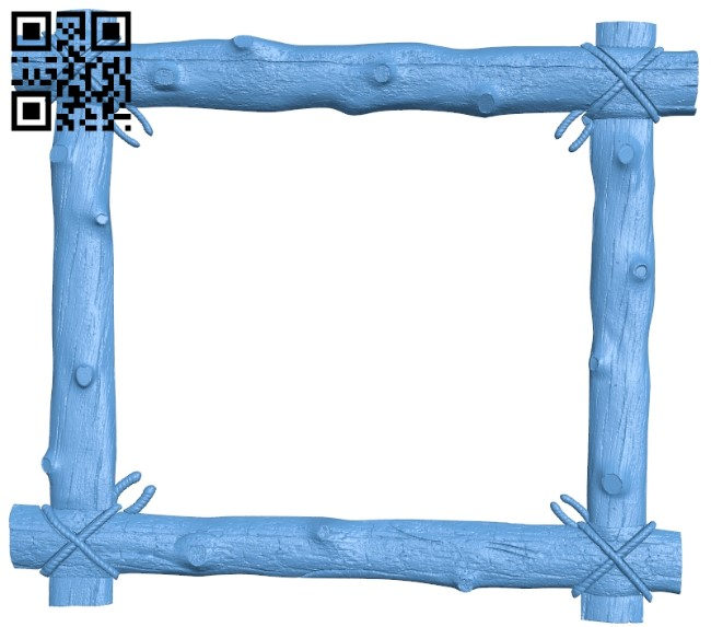 Picture frame or mirror A006111 download free stl files 3d model for CNC wood carving