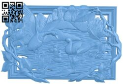 Pictures of ducks A006057 download free stl files 3d model for CNC wood carving