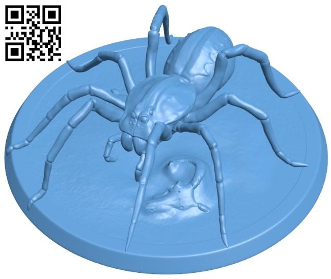 Spider - complete B009180 file obj free download 3D Model for CNC and 3d printer