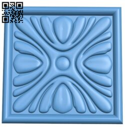 Square pattern A006031 download free stl files 3d model for CNC wood carving