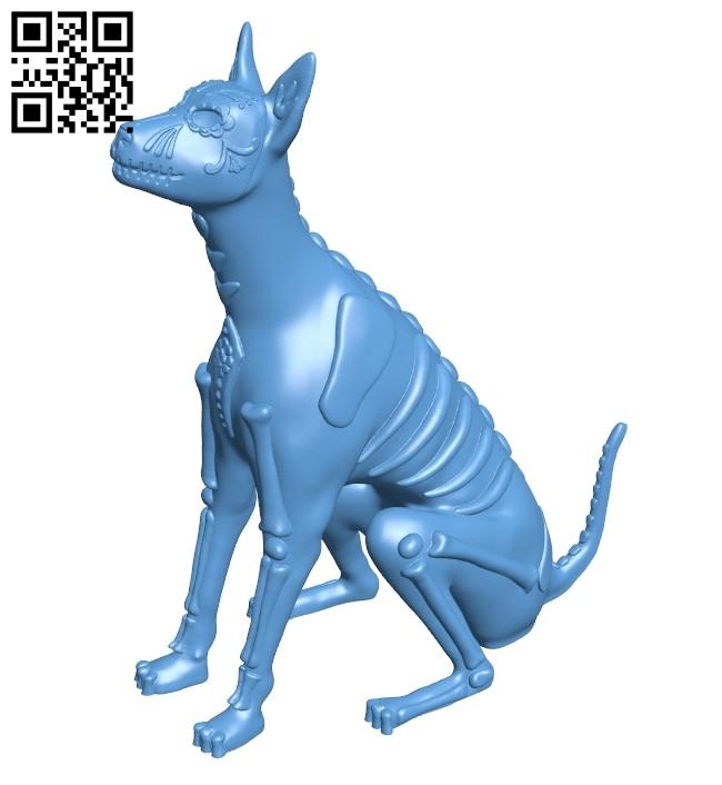 Sugar - dog B009179 file obj free download 3D Model for CNC and 3d printer