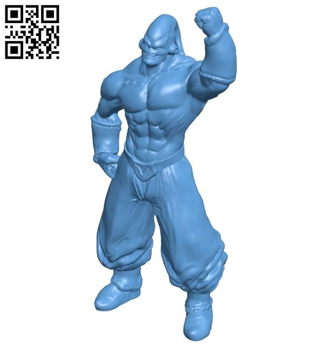 Super Buu - Dragon Ball B009178 file obj free download 3D Model for CNC and 3d printer