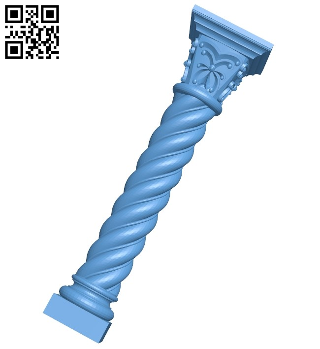 Table legs and chairs A006042 download free stl files 3d model for CNC wood carving