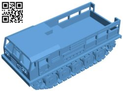 Tank ATS – 59G B009072 file obj free download 3D Model for CNC and 3d printer