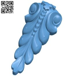 Top of the column A006010 download free stl files 3d model for CNC wood carving