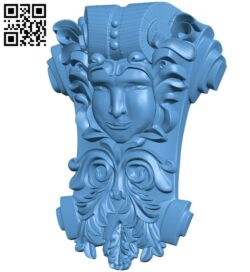 Top of the column A006101 download free stl files 3d model for CNC wood carving