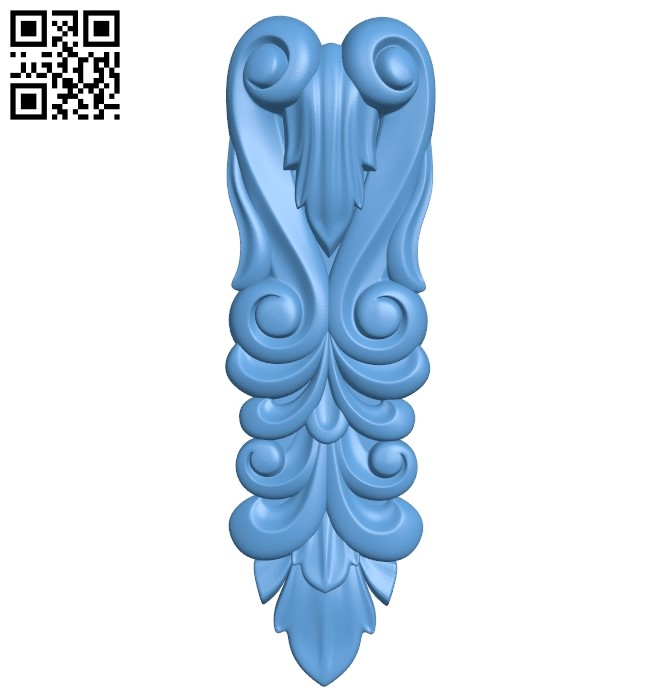Top of the column A006104 download free stl files 3d model for CNC wood carving