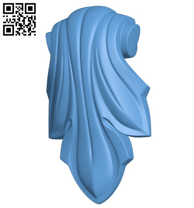 Top of the column A006105 download free stl files 3d model for CNC wood carving