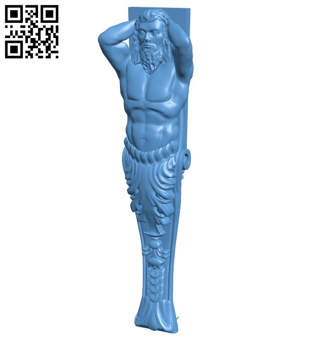 Top of the column A006108 download free stl files 3d model for CNC wood carving