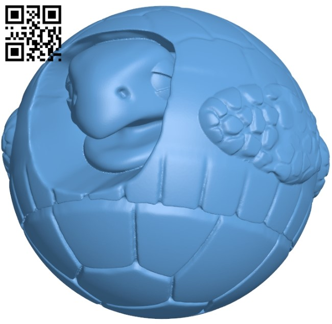Tortise B009160 file obj free download 3D Model for CNC and 3d printer