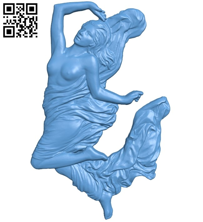 Women A006027 download free stl files 3d model for CNC wood carving