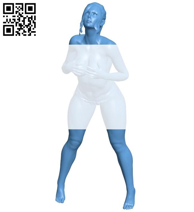 Women B009076 file obj free download 3D Model for CNC and 3d printer