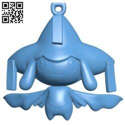 jirachi – pokemon B009151 file obj free download 3D Model for CNC and 3d printer