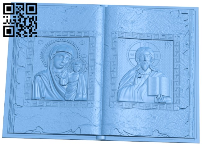 Book Icon A006158 download free stl files 3d model for CNC wood carving