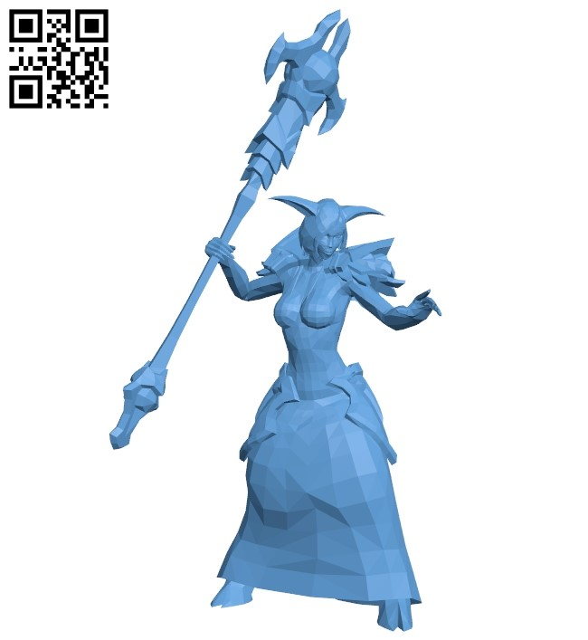 Draenei wow B009370 file obj free download 3D Model for CNC and 3d printer