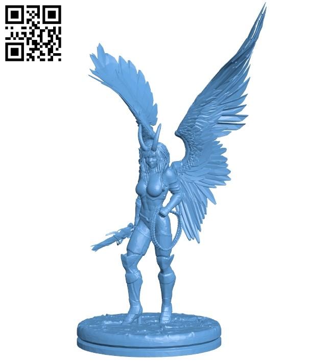 Erinyes B009325 file obj free download 3D Model for CNC and 3d printer