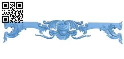 Fireplace door frame A006192 download free stl files 3d model for CNC wood carving