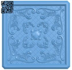 Flat plate pattern A006290 download free stl files 3d model for CNC wood carving