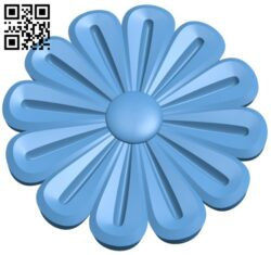 Flower pattern A006260 download free stl files 3d model for CNC wood carving