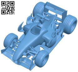 Honda RA106-06 – car B009262 file obj free download 3D Model for CNC and 3d printer