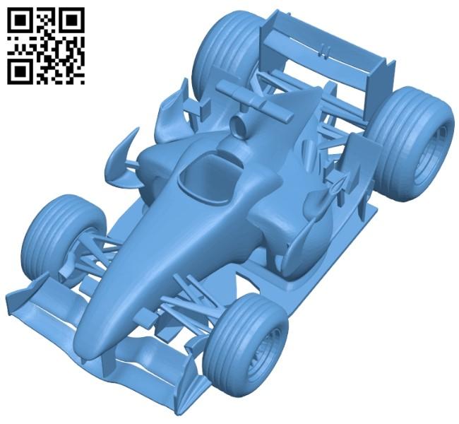 Honda RA106-06 - car B009262 file obj free download 3D Model for CNC and 3d printer