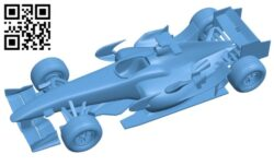 Honda RA106 – car B009281 file obj free download 3D Model for CNC and 3d printer