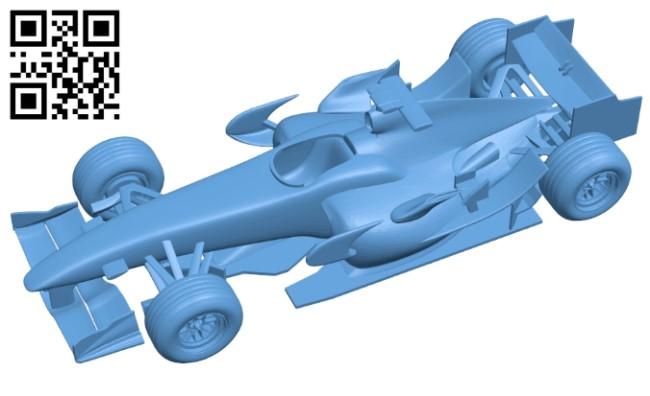 Honda RA106 - car B009281 file obj free download 3D Model for CNC and 3d printer