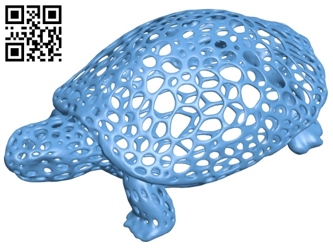 Hungry turtle B009227 file obj free download 3D Model for CNC and 3d printer