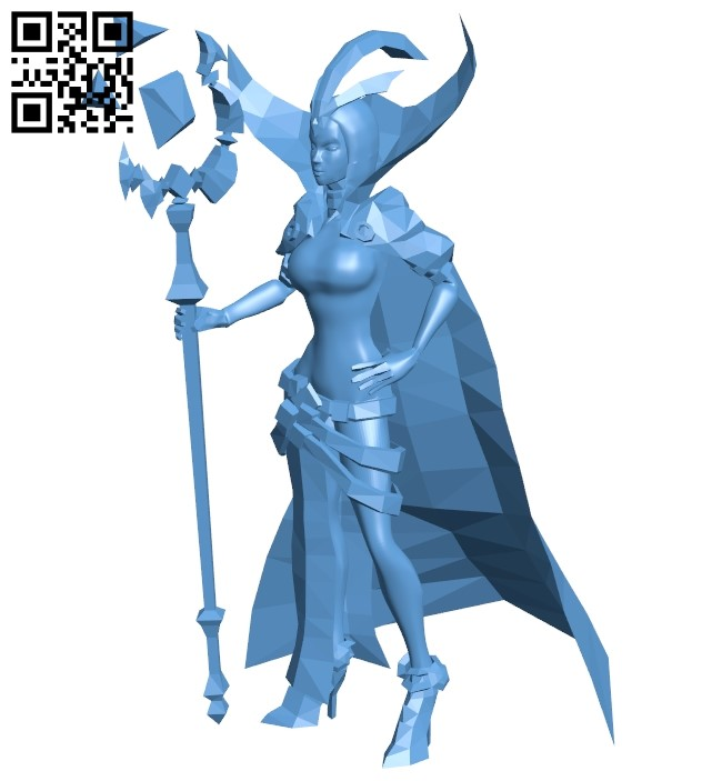 Leblanc – Women B009320 file obj free download 3D Model for CNC and 3d printer