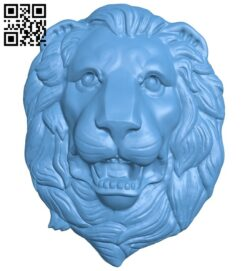Lion head pattern A006230 download free stl files 3d model for CNC wood carving