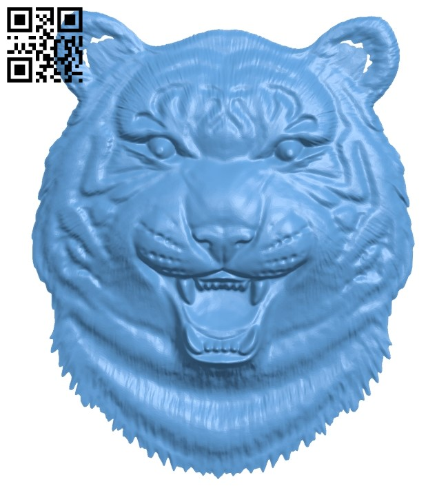 Lion head pattern A006236 download free stl files 3d model for CNC wood carving