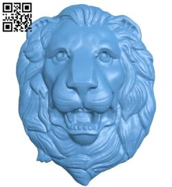 Lion head pattern A006237 download free stl files 3d model for CNC wood carving