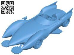 MachGo – car B009296 file obj free download 3D Model for CNC and 3d printer