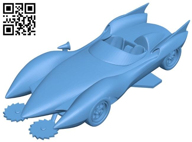 MachGo - car B009296 file obj free download 3D Model for CNC and 3d printer