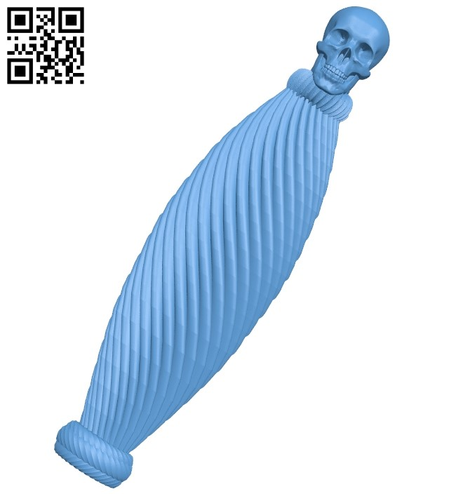 Nice handle A006163 download free stl files 3d model for CNC wood carving