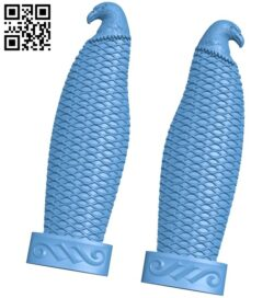 Nice handle A006164 download free stl files 3d model for CNC wood carving