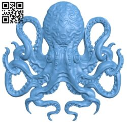 Octo B009341 file obj free download 3D Model for CNC and 3d printer