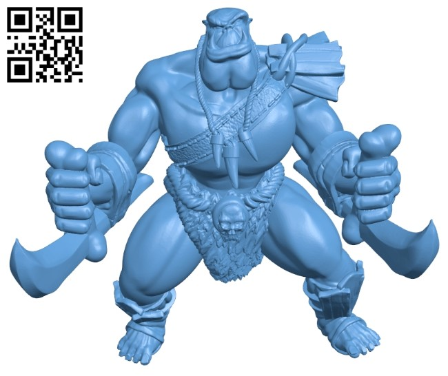 Orcarin - Tabletop B009272 file obj free download 3D Model for CNC and 3d printer