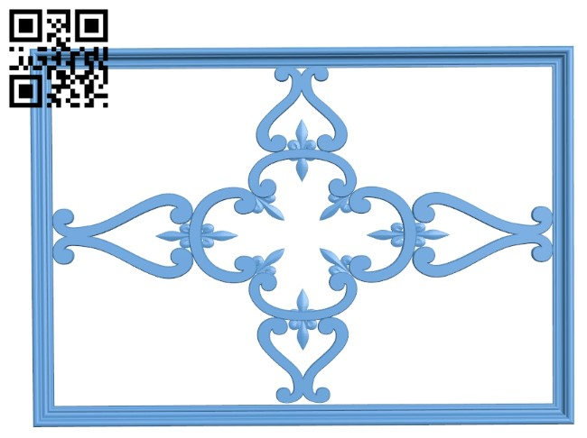 Pattern decor design A006208 download free stl files 3d model for CNC wood carving