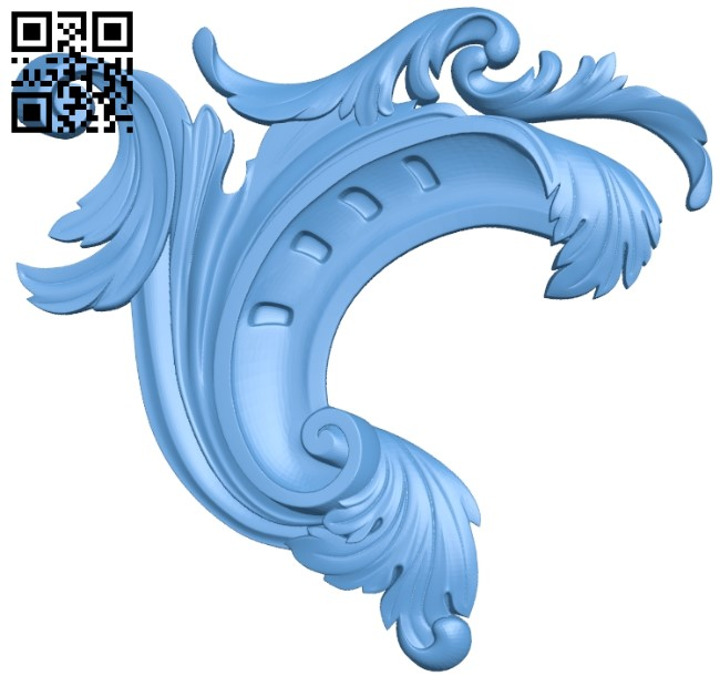 Pattern decor design A006273 download free stl files 3d model for CNC wood carving