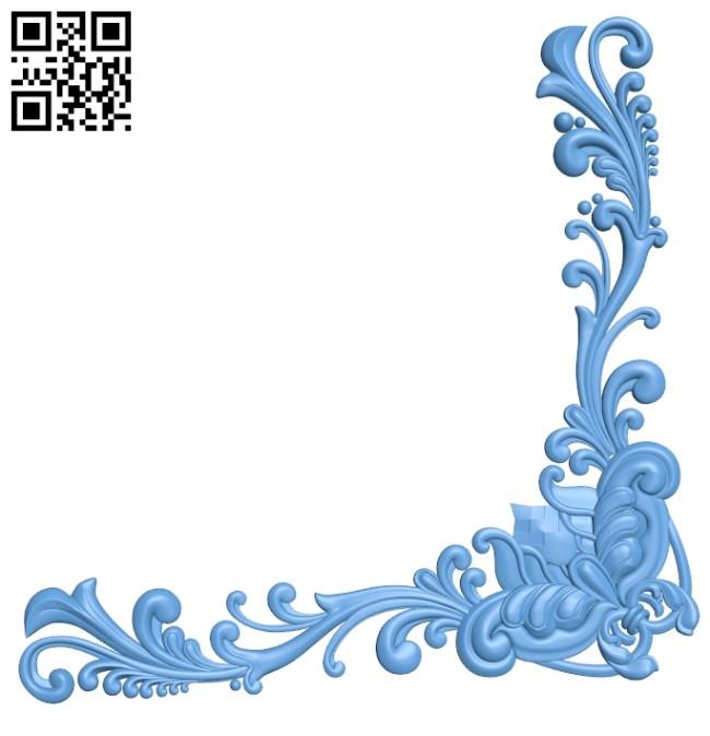 Pattern decor design A006275 download free stl files 3d model for CNC wood carving