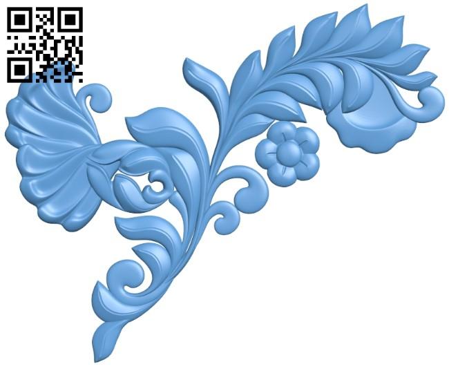 Pattern decor design A006277 download free stl files 3d model for CNC wood carving