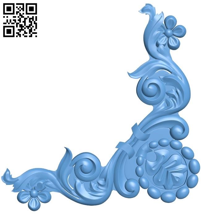 Pattern decor design A006282 download free stl files 3d model for CNC wood carving
