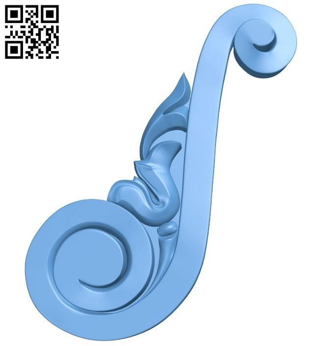 Pattern decor design A006283 download free stl files 3d model for CNC wood carving