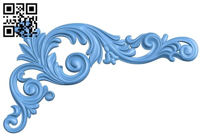 Pattern decor design A006286 download free stl files 3d model for CNC wood carving