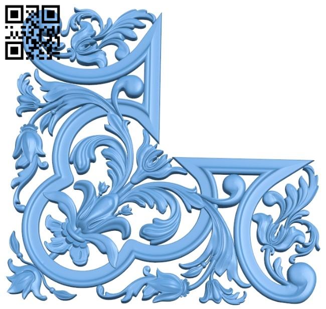 Pattern decor design A006287 download free stl files 3d model for CNC wood carving