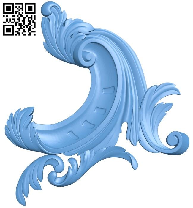 Pattern decor design A006289 download free stl files 3d model for CNC wood carving